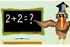 Bird-doing-math