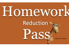 Homework-reduction-pass